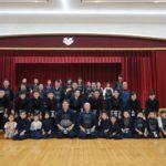 杉山彰先生 八段昇段記念胴贈呈式